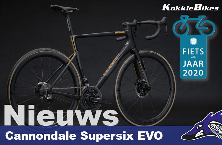 Cannondale SuperSix evo fiets van het jaar 2020